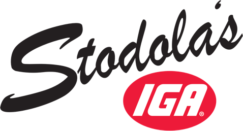 A theme footer logo of Stodola's IGA